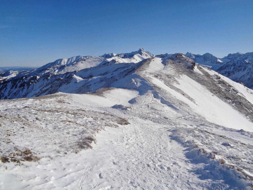 Kopa Kondracka - przełęcz