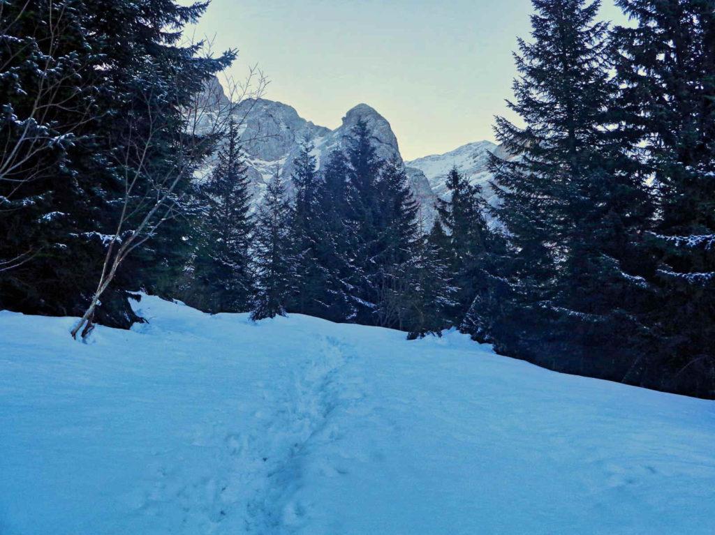 Niebieski szlak na Małołączniak
