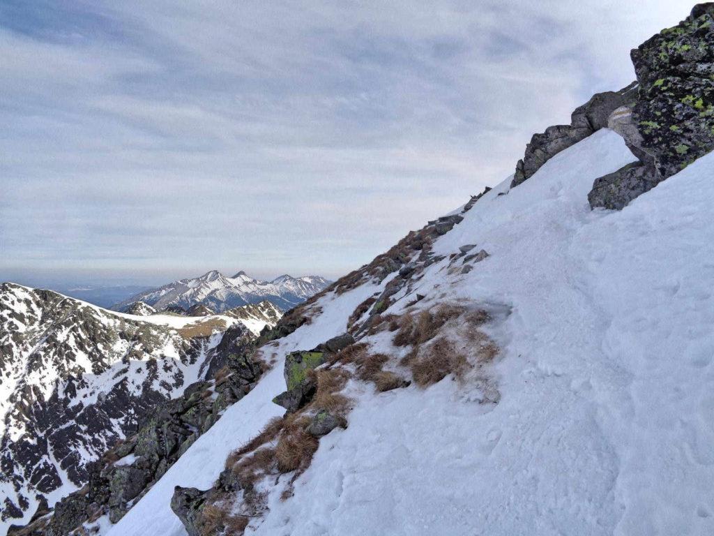 Skrajny Granat, wejście na szczyt