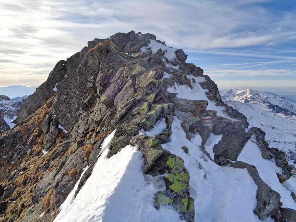 Skrajny Granat zimą