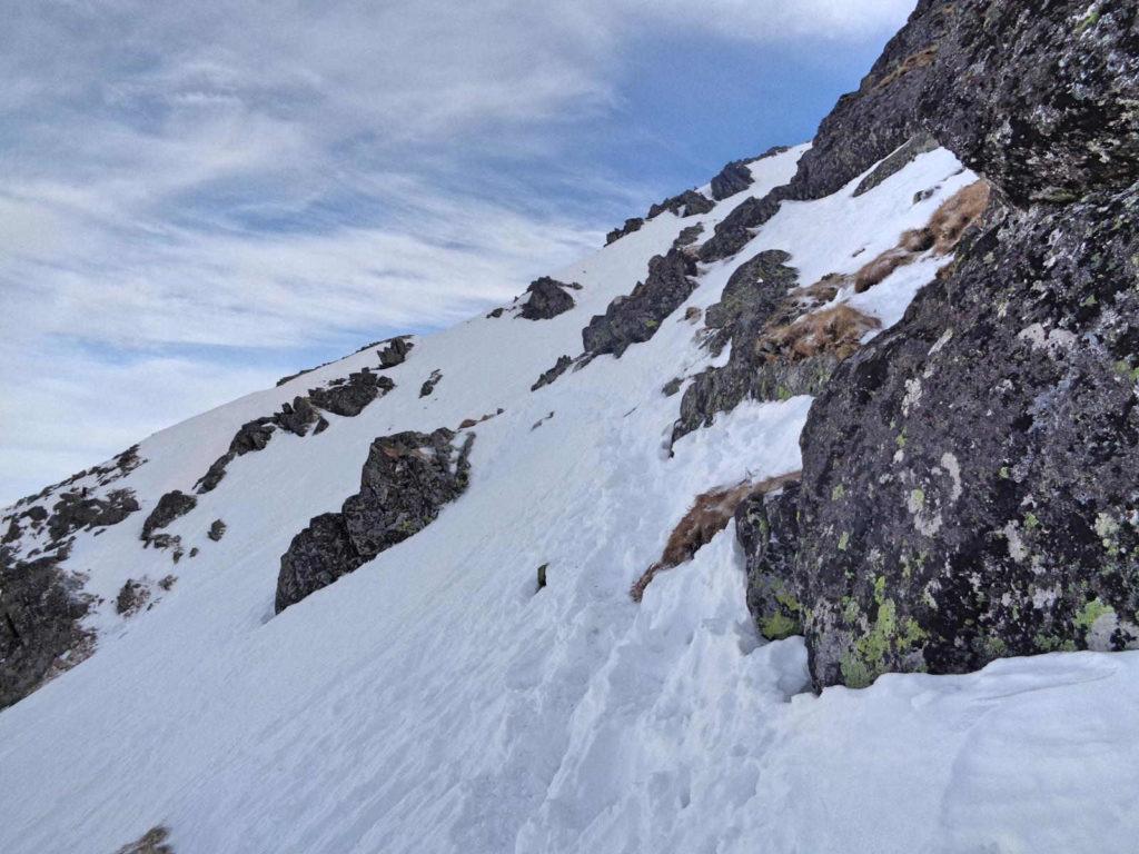 Zimą na Skrajny Granat