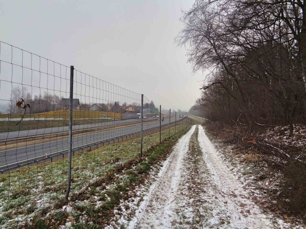 Szlak Mnikowski, autostrada