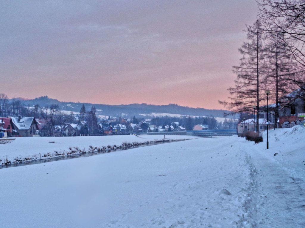 Nowy Targ zimą
