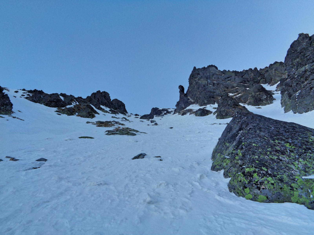 Żółta Przełęcz, warunki zimowe