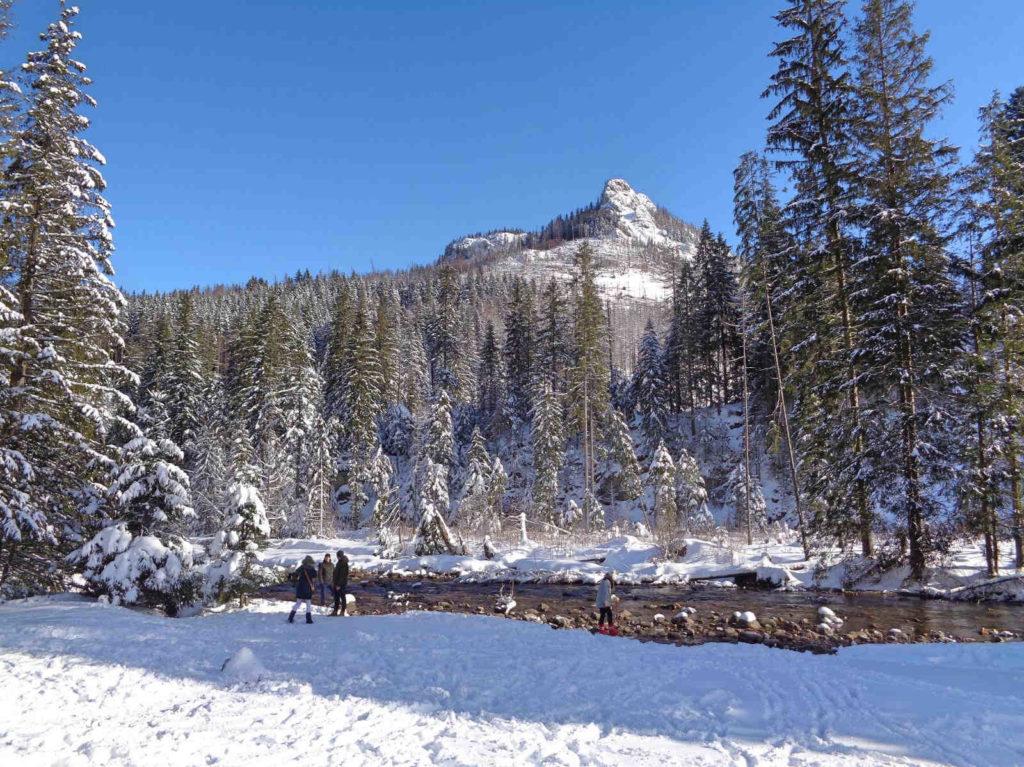 Dolina Kościeliska, atrakcje w zimie