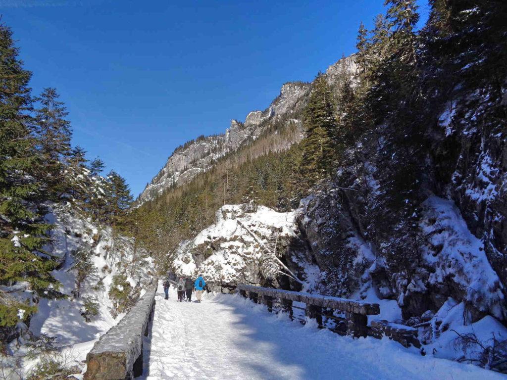 Dolina Kościeliska, atrakcje zimą