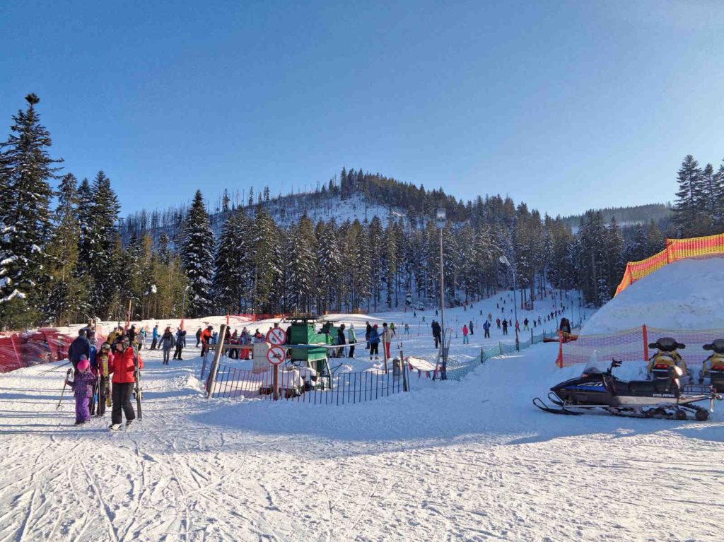 Biały Potok, stok narciarski
