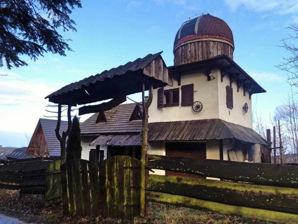 Góra Chełm, obserwatorium