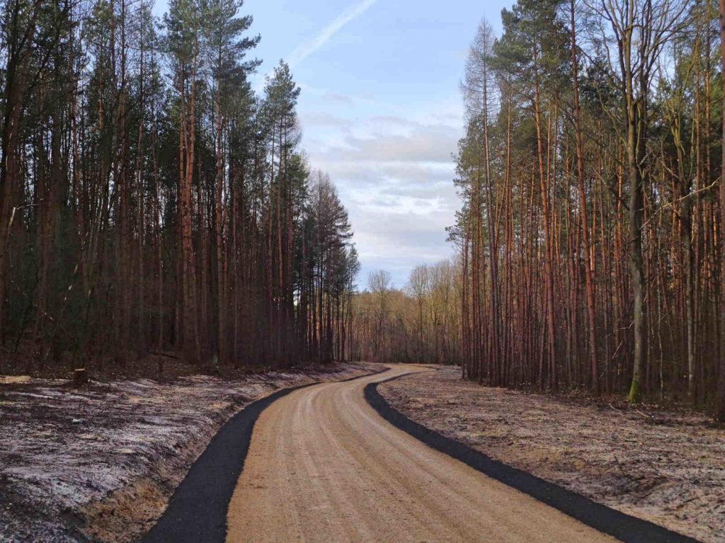 Rezerwat Kajasówka, droga