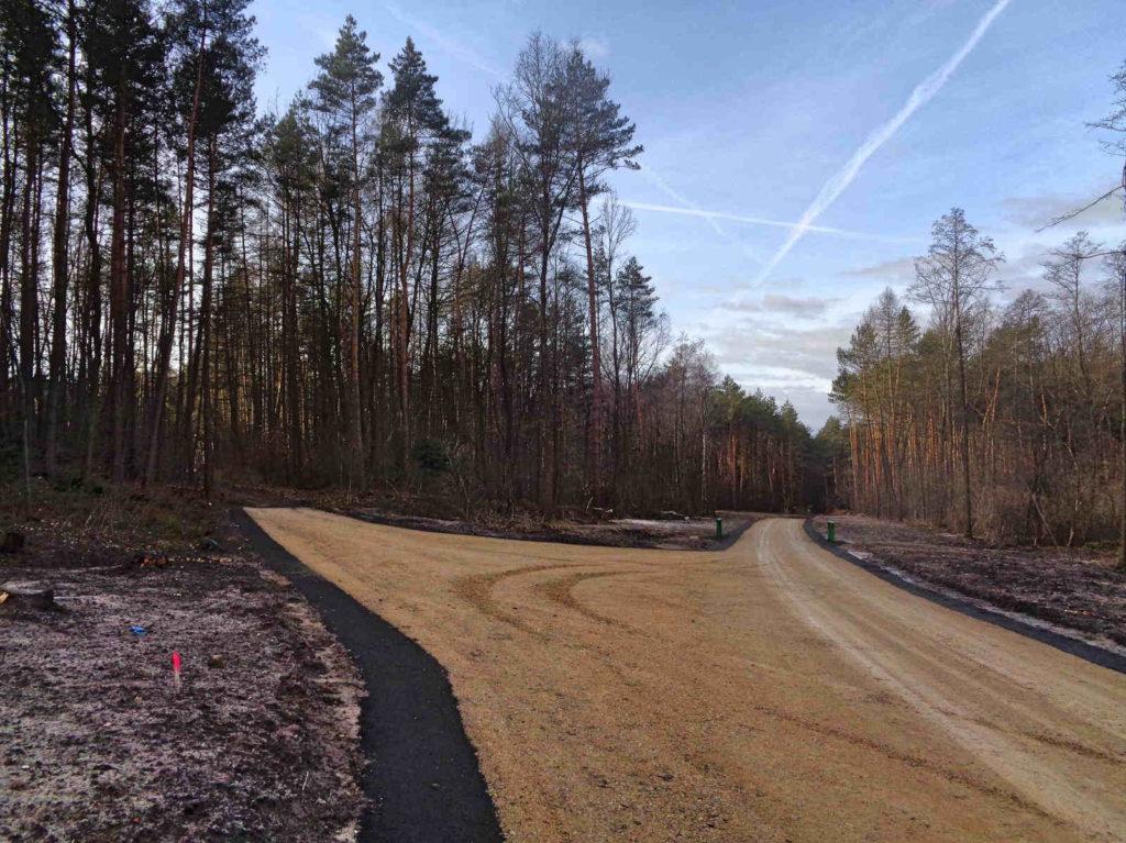 Rezerwat Kajasówka, nowa droga