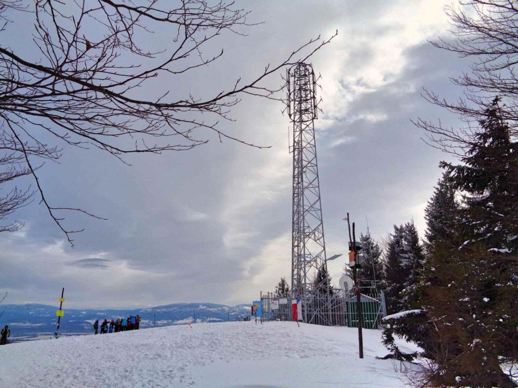 Klimczok zimą