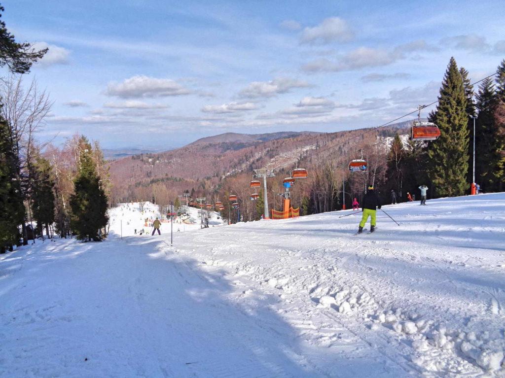 Czarny Groń, stok narciarski