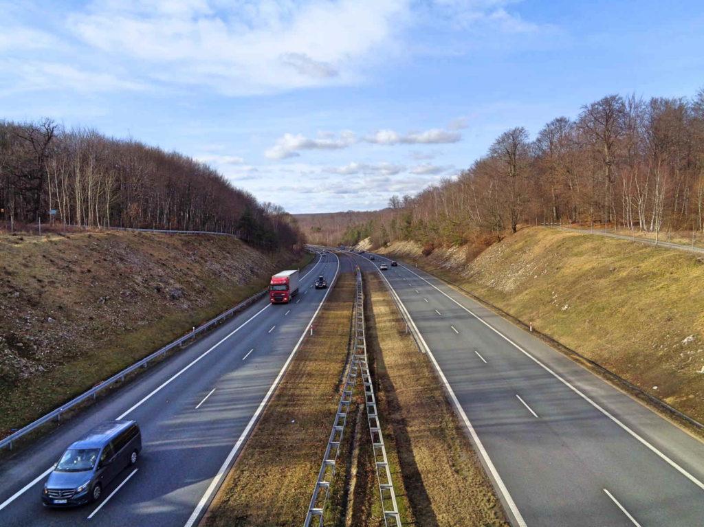 Szlak Tenczyński, autostrada