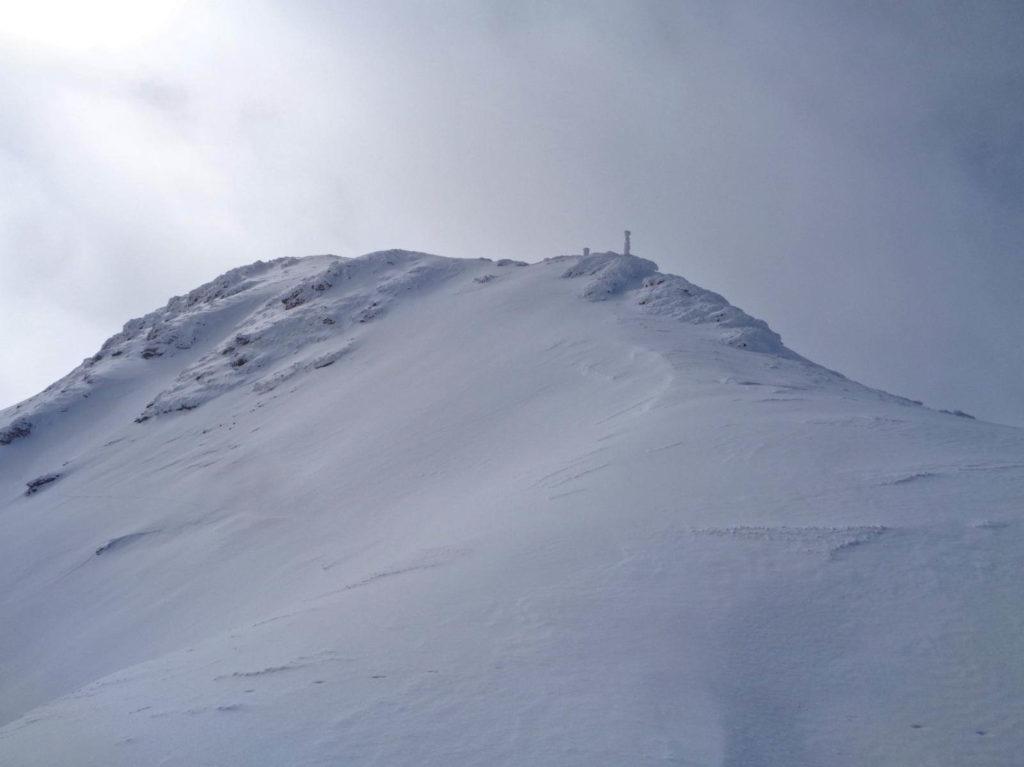Jarząbczy Wierch w zimie