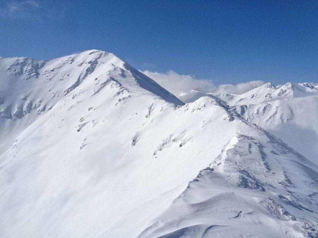 Jarząbczy Wierch, wejście zimą