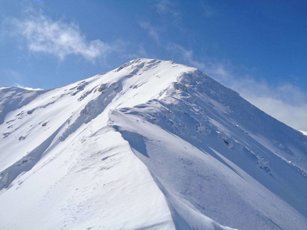 Jarząbczy Wierch zimą