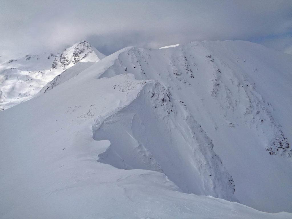Niska Przełęcz zimą