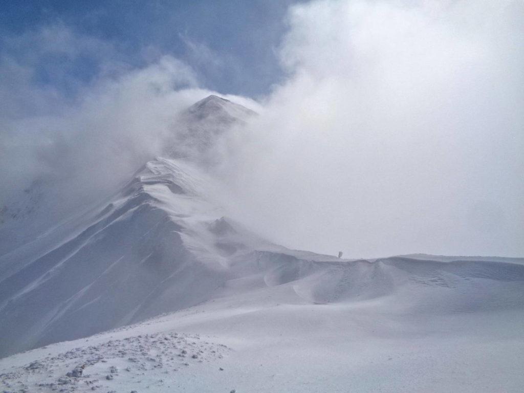 Starorobociański Wierch zimą