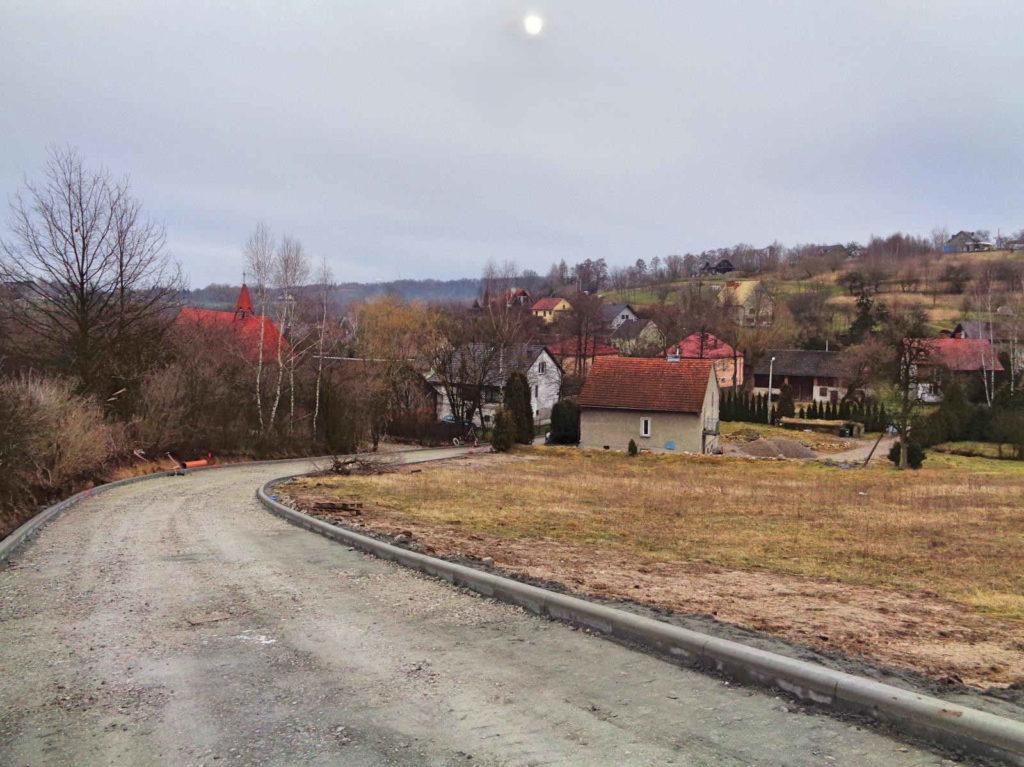 Brzoskwinia, wieś