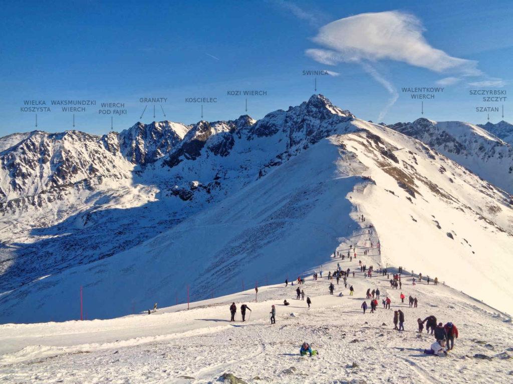 Kasprowy Wierch zimą