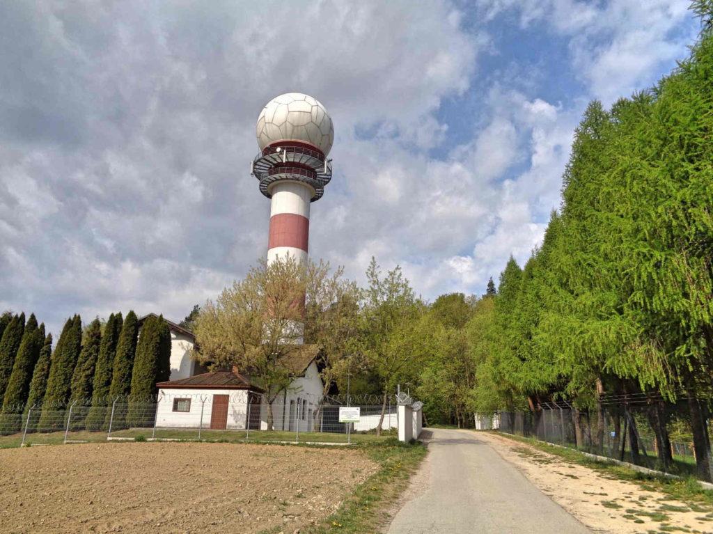 Las Zabierzowski, radar