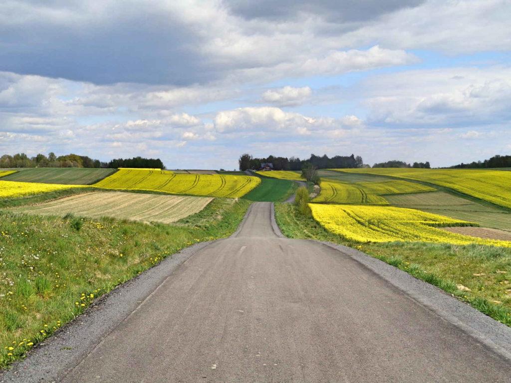 Dolina Karpia, szlak rowerowy