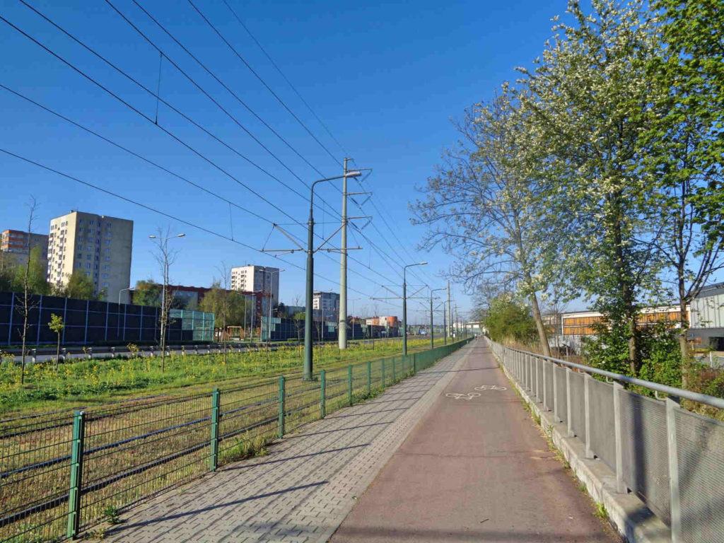 Kraków, ścieżki rowerowe
