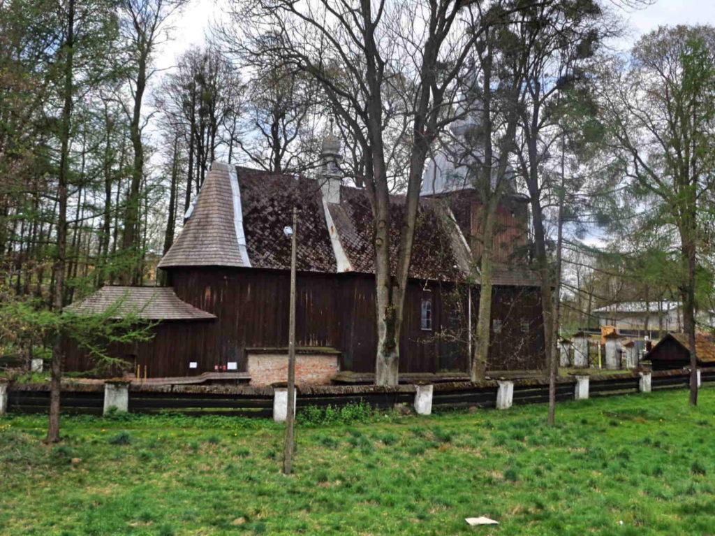 Polanka Wielka, kościół św. Mikołaja