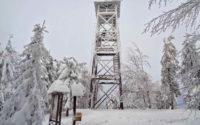 Mogielica zimą