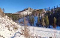 Ścieżka nad Reglami zimą, szlak