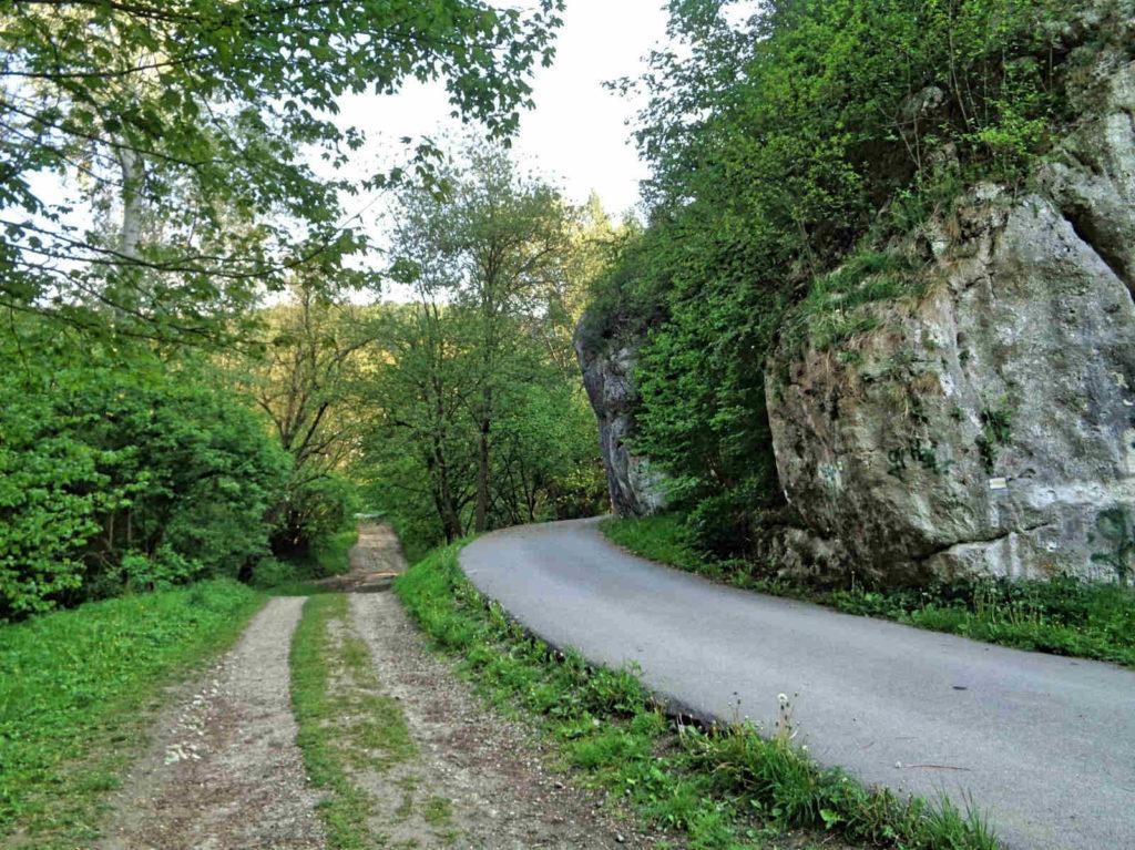 Dolina Kobylańska, wejście