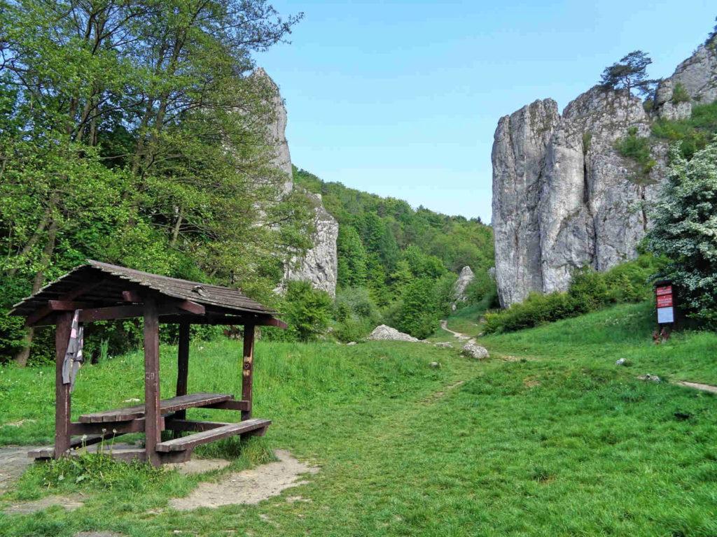Wąwóz Bolechowicki, brama skalna