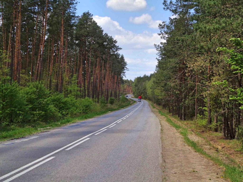 Droga Borków - Kielce