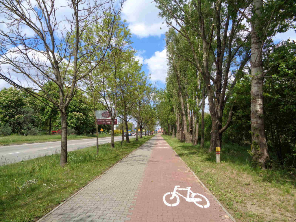 Kielce, ścieżki rowerowe