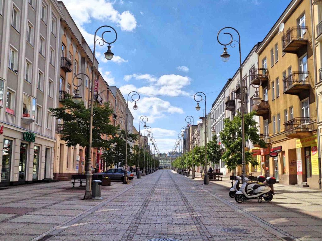 Kielce, ulica Sienkiewicza