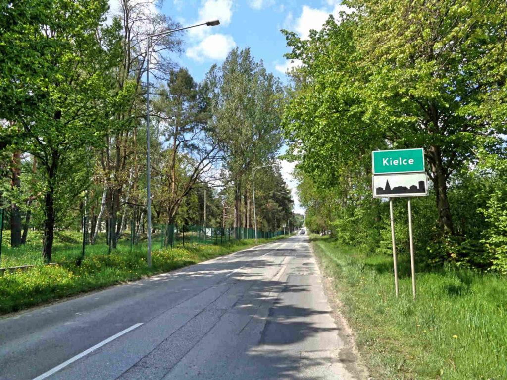 Kraków - Kielce rowerem