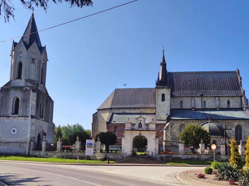 Skalbmierz, kościół św. Jana
