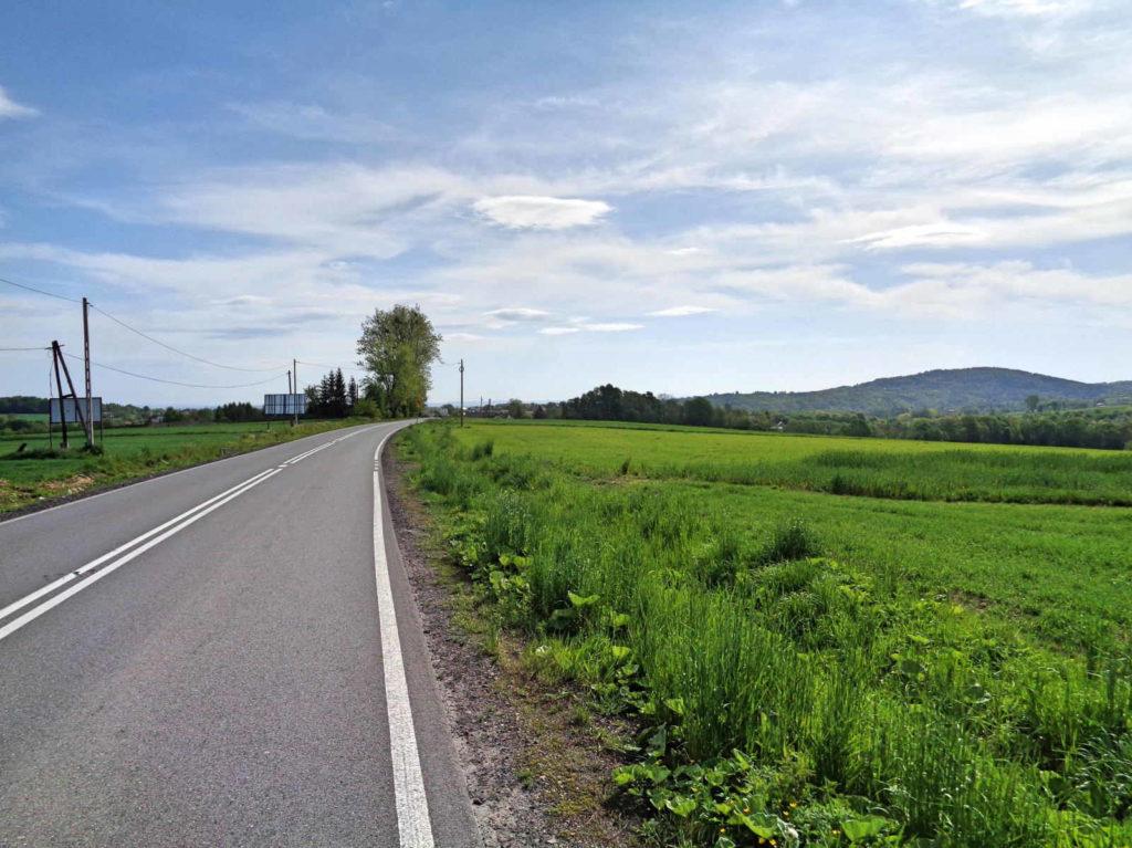Droga Wadowice - Brzeźnica