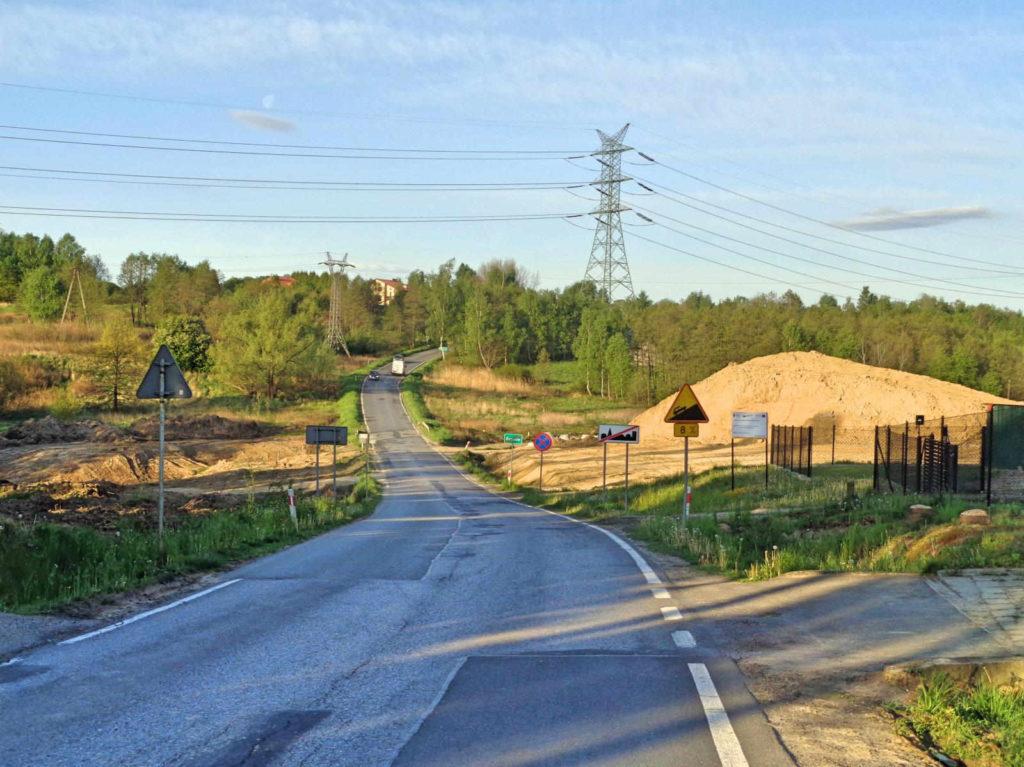 Rzozów, droga 953