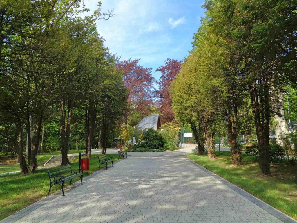 Wadowice, park miejski