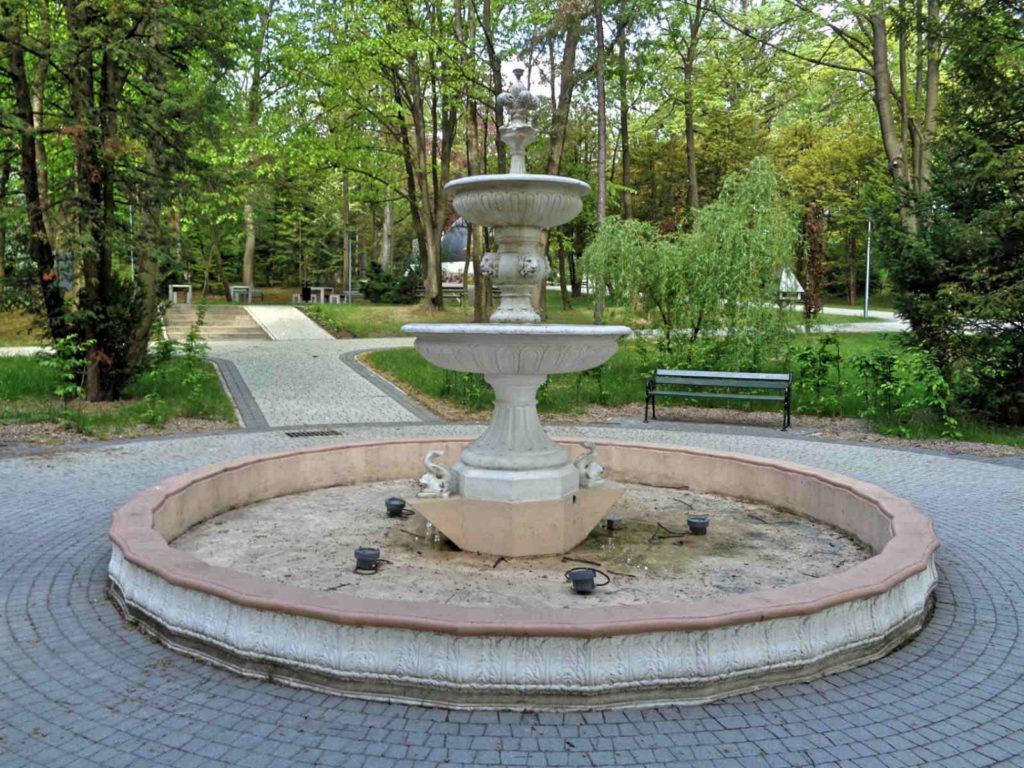 Wadowice, stara fontanna