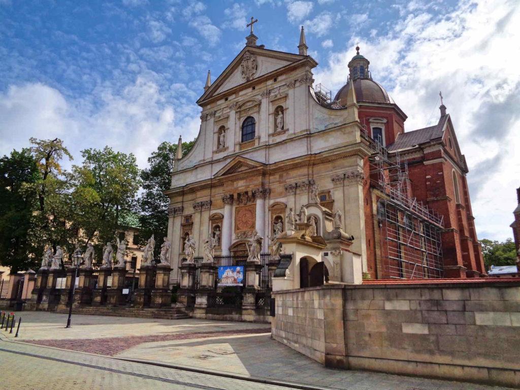 Kraków, Kościół Piotra i Pawła