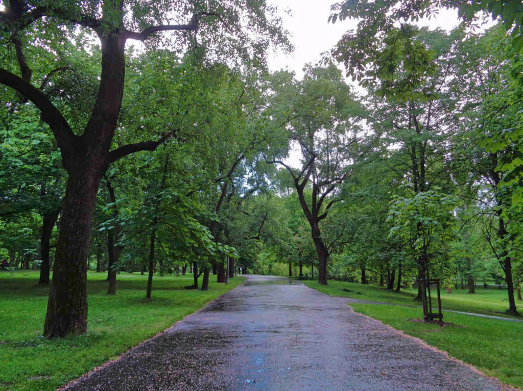 Kraków, Park Lotników