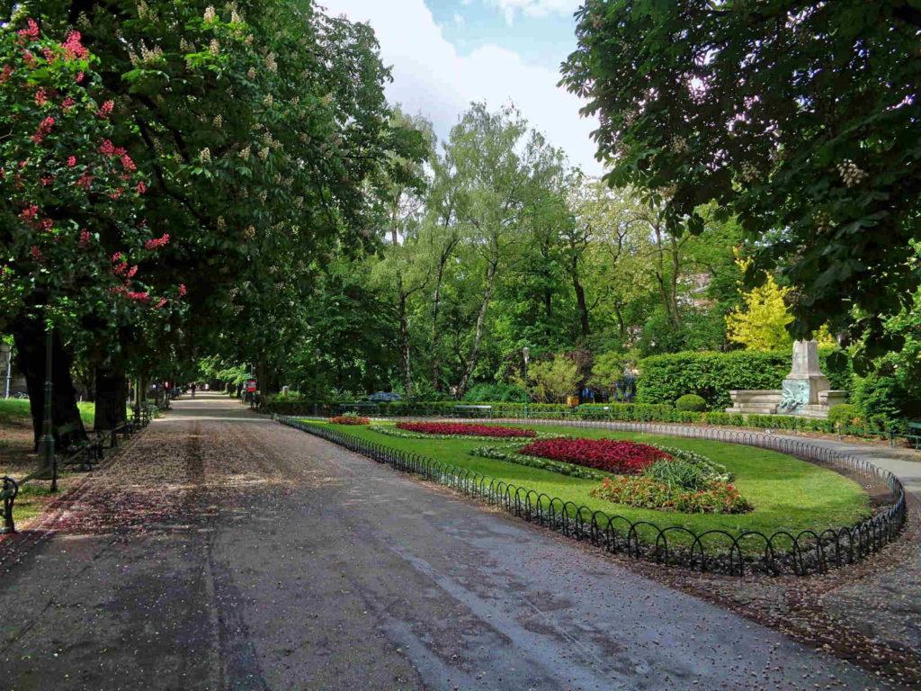 Kraków, Planty