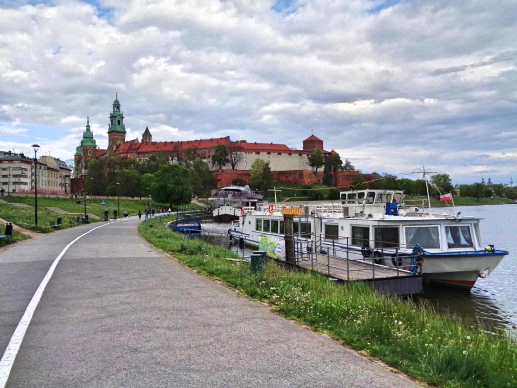 Wawel i Bulwary