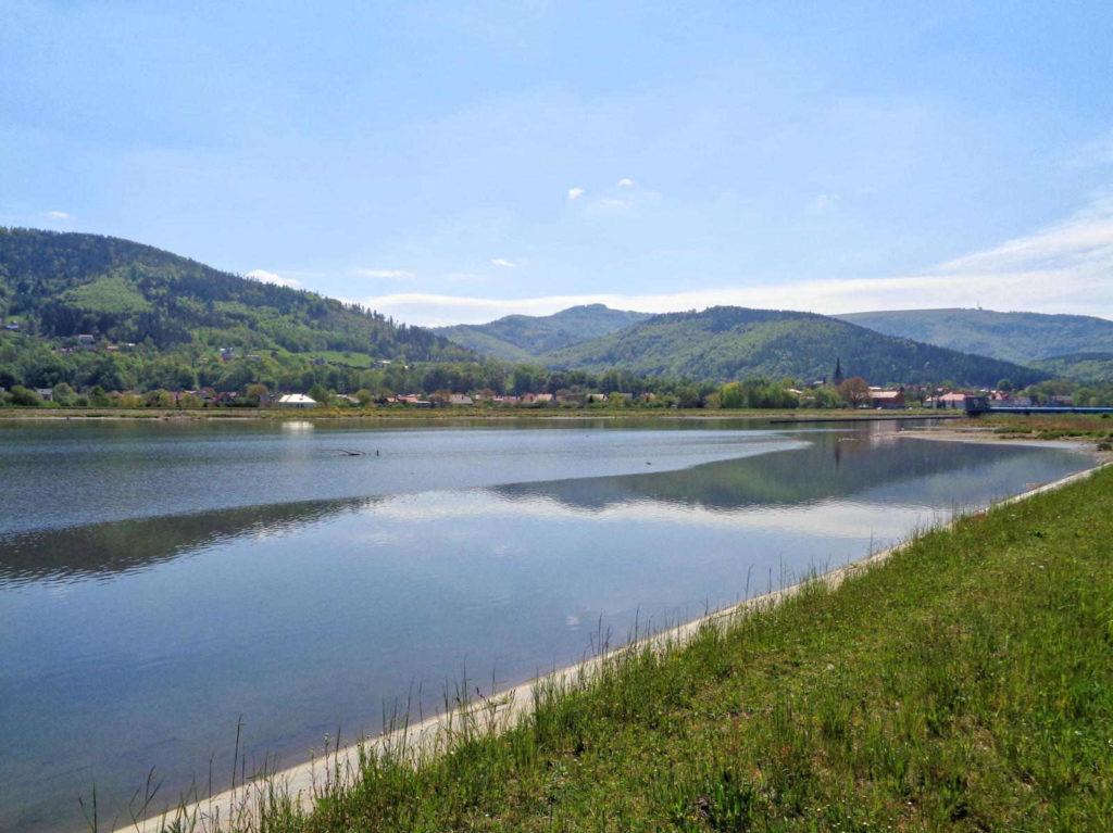 Jezioro Czanieckie, rower