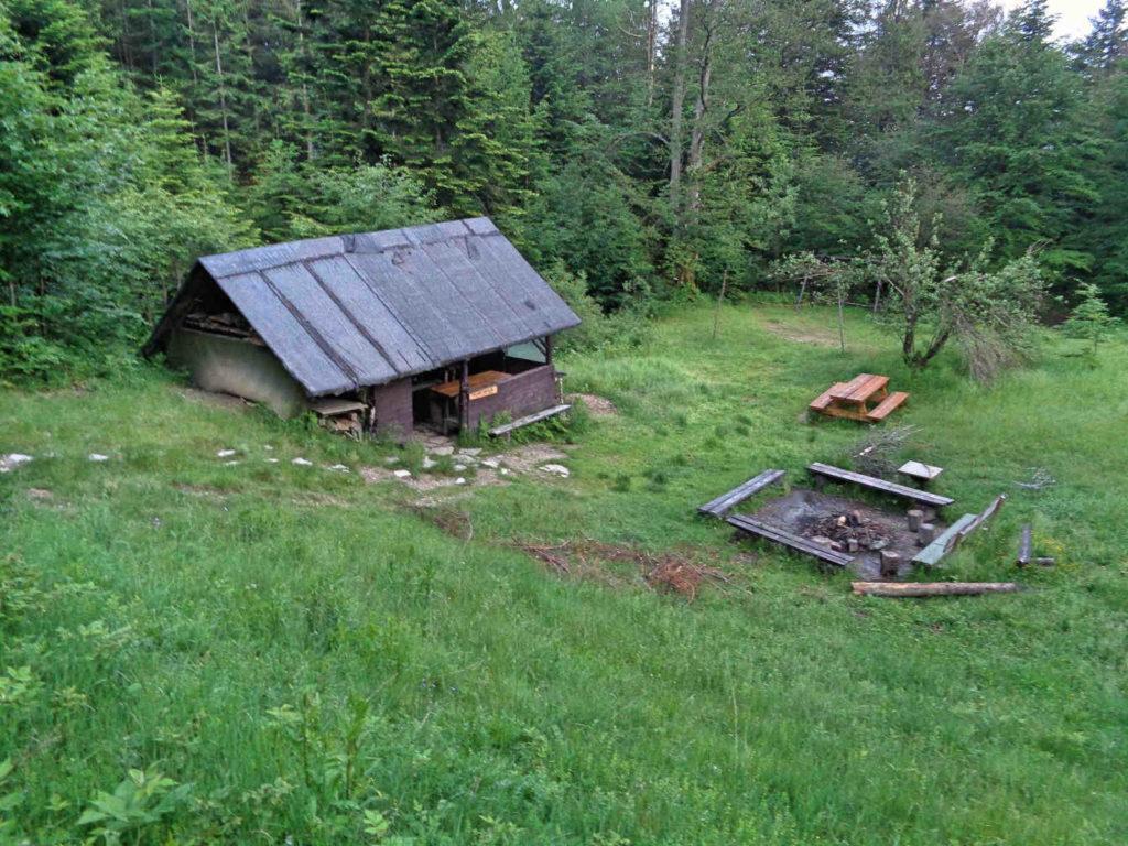Baza namiotowa Polana Wały