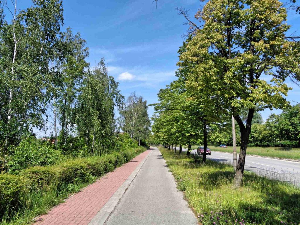 Częstochowa, ścieżki rowerowe