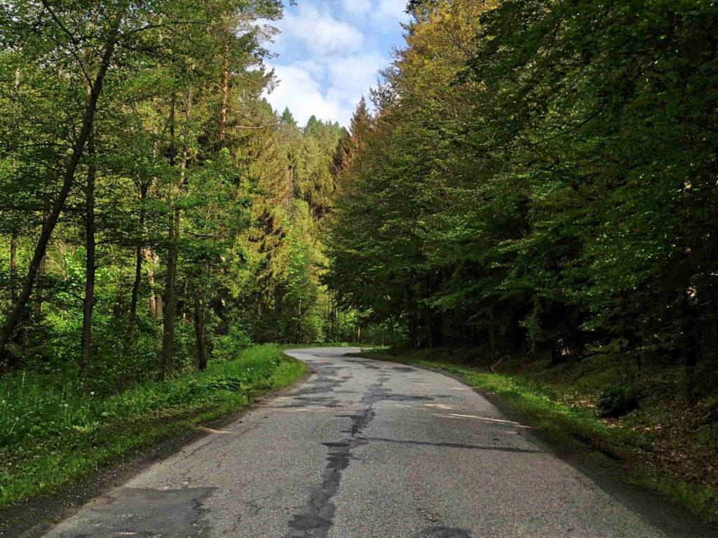 Droga Krzeszowice - Olkusz