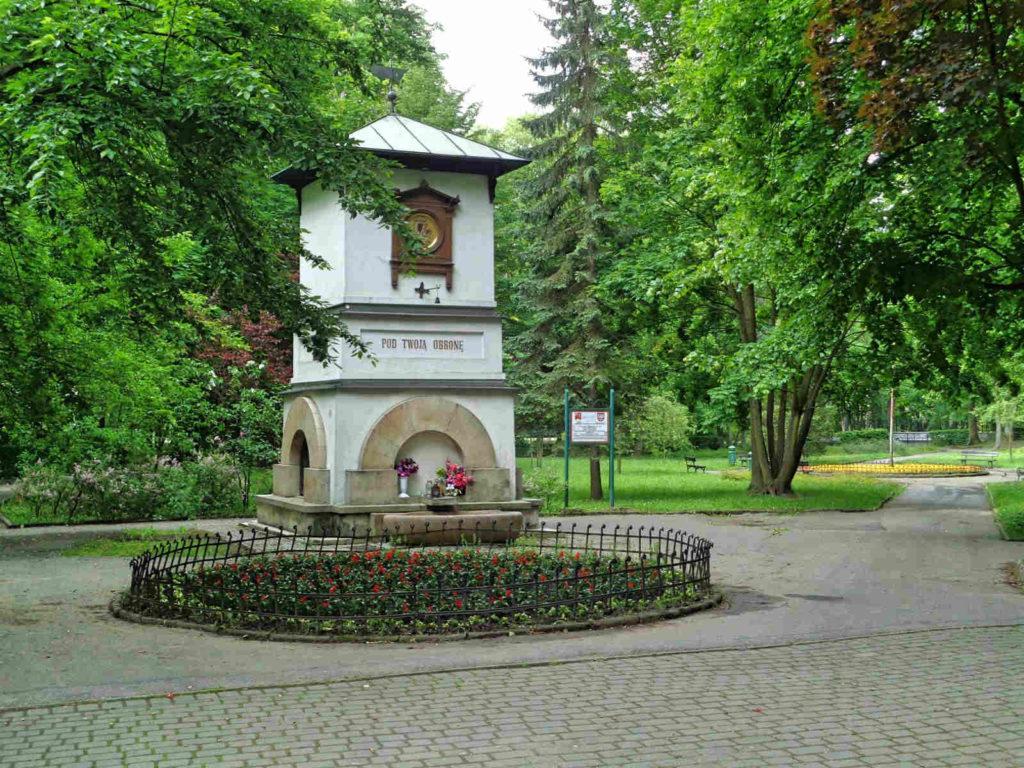 Krzeszowice, park
